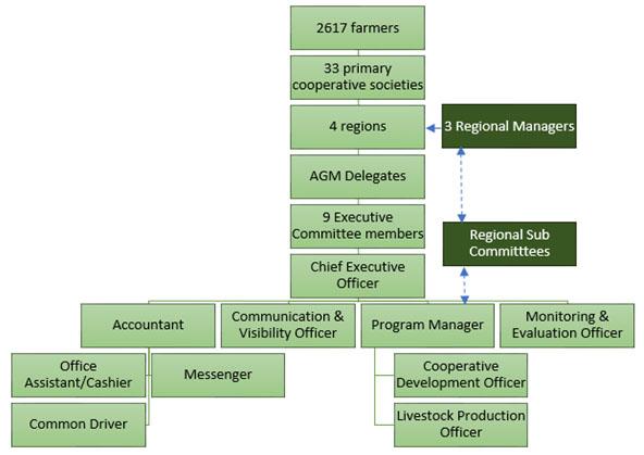 UMPCU Organizational Chart